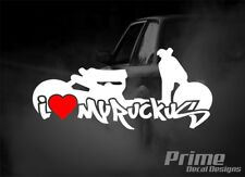 I Love My HONDA RUCKUS Heart JDM Low Slammed Car Wall Window Vinyl Decal Sticker