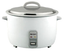 Adcraft RC-E50 Heavy Duty 50 Cup Electric Rice Cooker W/ Stainless Lid