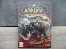 Jeu PC : WORLD OF WARCRAFT – Mists of pandaria – neuf blister