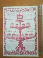PUB ANCIENNE DVERT CLIPPING Eaux de sources 1904