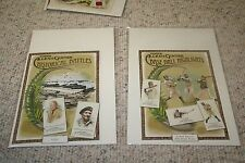 2009 Allen and Ginter Cabinet Boxloaders 'Three Reach 500 Homers'