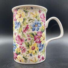 More details for vintage 2000 roy kirkham garden chintz fine bone china mug made in england