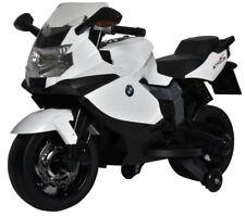 BMW Kids Ride On Motorcycle - Licensed K1300S Model in White
