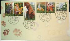 Australia FDC 1996 Domestic Animals Pets unaddressed
