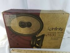 "INFINITY 6953i 3-WAY AUTOMOTIVE LOUDSPEAKERS 6"" x 9"" IN ORIGINAL BOX"