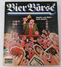 Parker Bier Börse Brettspiel, gebraucht