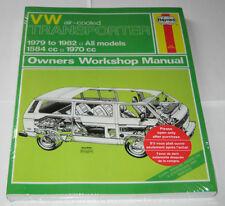 Reparaturanleitung VW Bus + Transporter T3 Luftboxer, Baujahre 1979 - 1982
