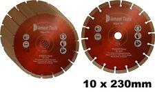 10x Diamant-Trennscheibe 230 mm Viper 10 Diamantscheibe uni.