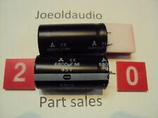 Technics SA-222 Original Filter Capacitors. 1 Pair Tested. Parting Entire SA-222