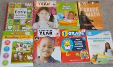 NEW Lot School Workbooks Kindergarten & First 1st Grade Reading Math K-1 Books