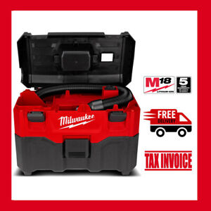 Milwaukee M18WDV-0 18V Cordless 7.5L Wet & Dry Vacuum Cleaner - 5 Years Warranty