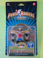 Power Rangers Super Zeo Megazord BANDAI 1996 Sword Swinging Figure New MOSC