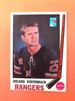Orland Kurtenbach 1969-70 O-Pee-Chee OPC Hockey Card #188  See Photos