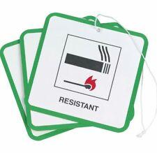 50 x Etichette di sicurezza antincendio Swing tag per tappezzeria/MOBILI/SEDIE