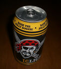 2014 PITTSBURGH PIRATES 12 OZ. IRON CITY IC LIGHT JOLLY ROGER BEER  CAN - BO