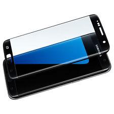 Samsung Galaxy S7 Schwarz Handy Displayschutz Folie Schutzglas Panzerglas Glass