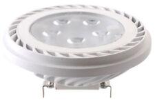 ledecco AR111 G53 LED Projecteur spot blanc chaud 15W ~50W 36° 12V DC 650lm