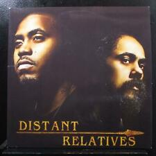 Nas & Damian Marley - Distant Relatives 2 LP Mint- GY0060 USA 2010 Vinyl Record