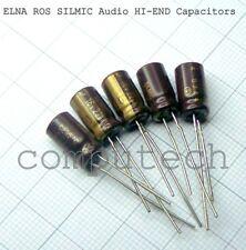 2 PCS ELNA RFS Silmic II Condensatore audio 4,7uf 50v 6,3x11 20/% 85 ° C rm2 5