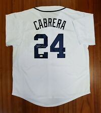 Miguel Cabrera Autographed Signed Jersey Detroit Tigers JSA
