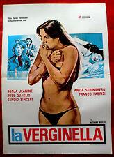 LA VERGINELLA 1977 SEXY RINA FRANCHETTI FRANCO FABRIZI A.HABER EXYU MOVIE POSTER