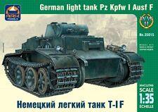Pz. pour kpfw ii ausf. f-ww ii german tank (wehmracht markings) 1/35 ark ex alan