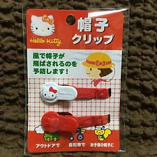 New Sanrio Hello Kitty Cap Hat Clip Holder  Outdoors From japan Convenient! f/s