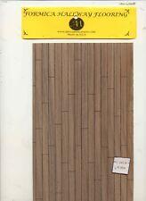 Flooring Sheet - Formica - Walnut 90 sq.in. dollhouse miniature 1:12 scale USA