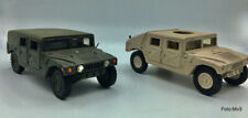 Hummer 2 x Resin. 1/43 - Must be finished,