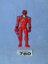 "POWER RANGERS SUPER MEGAFORCE 5"" RED JUNGLE FURY RANGER"