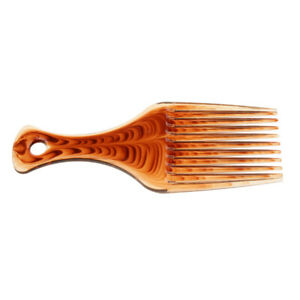 Plastic Afro Hair Pick Comb Wigs Detangler Long Teeth - Great for Curly Hair