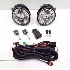 For 04-07 Nissan Armada Titan Clear Lens Fog Driving Light w/ Wires Bulbs Pair
