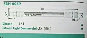 CITROEN C15 LNA PEUGEOT 104 RENAULT 18 TALBOT Samba Rear Brake Hose FL FBH6059