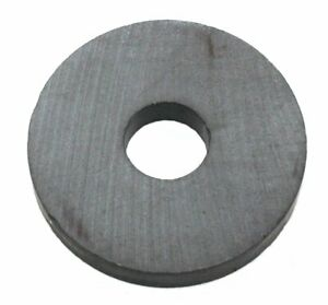 "Round Ring Magnet 1-1/4"" OD, 3/8"" ID, 3/16"" thick - Lot of 10"