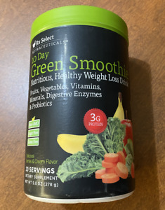 RX Select 10 Days Greens Smoothie Nutritious Healthy Weight Lost Drink 9.8 oz