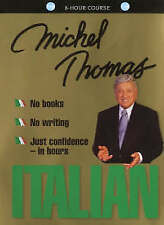 Italian complete course learn with Michel Thomas (8 hours on 8 audio CD's)