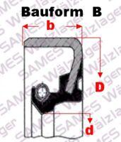 1 Stück 22x32x7 FKM//FPM Wellendichtring Oil-Seal BASL,TC, AS = Viton®