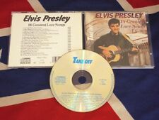 ELVIS PRESLEY - 18 greatest love songs  CD 1988