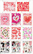 Red Stickers Nail Art Supplies
