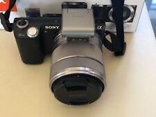 Sony Alpha NEX-5N 16.1MP Digital Camera - Black Kit 16mm + 18-55mm
