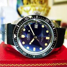 ORIS Divers Heritag Sixty Five 733 7720 4055 Automatic Blue Dial 42mm Men Watch