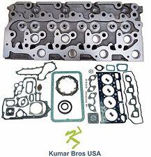 """New Kubota V2403 """"BARE"""" Diesel Cylinder Head with Full Gasket Set"""
