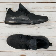 c131064dbe2 NIKE Men Zoom Train Command Triple Black Training Shoe 922478 004 - Sz 12  New