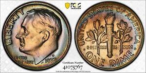 1972 D ROOSEVELT DIME 10C PCGS MS 66 MINT STATE UNC - TRUE VIEW (767)