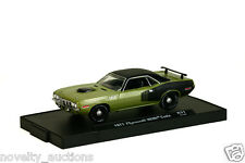 M32 11228 31 M2 MACHINE AUTO DRIVERS 1971 Plymouth HEMI Cuda  BARRACUDA 71 1:64