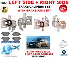 Pour Ford Focus II 2.5 st Rs 500 2008-2012 Arrière Gauche + Droit Étrier Frein +
