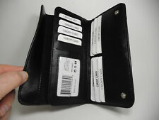 True Gear Black Leather Chain Wallet-For Deliverymen, Bikers,Truckers,etc.#1-239