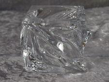 Leonardo Kristallglas Swirl Kerzenhalter Leuchter Windlicht Tischlicht 8 cm