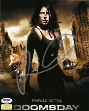 "RHONA MITRA as EDEN SINCLAIR SIGNED 8X10 PHOTO ""DOOMSDAY, UNDERWORLD"" PSA DNA"