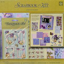 SCRAPBOOK KIT-Love in Bloom - 3d perfette/CRYSTAL STICKERS/Decorazione Stickers